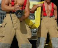 пожар вне положил Стоковое фото RF