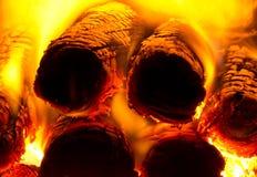 Пожар в печи Стоковая Фотография