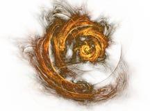 Пожар в реальном маштабе времени Зима Стоковое Изображение