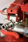 пожар гасителя крупного плана Стоковое Изображение RF