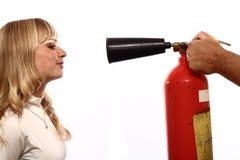 пожар гасителя Стоковые Фото