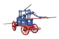 пожар двигателя старый Стоковое фото RF