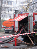 пожар двигателя стоковое фото rf
