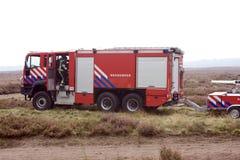 пожар двигателя Стоковые Фотографии RF