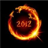 пожар дракона Стоковая Фотография RF