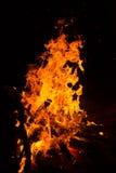 пожар детали предпосылки черный пылает хорошая вертикаль highlights мягко Стоковые Фотографии RF