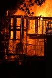пожар здания Стоковые Фотографии RF