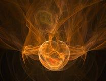 пожар конструкции предпосылки Стоковое Изображение RF