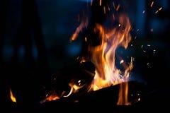 пожар Концепция природы стоковые фотографии rf