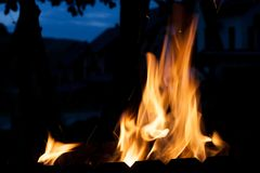 пожар Концепция природы стоковое изображение
