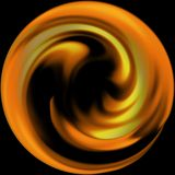 пожар круга Стоковые Фотографии RF
