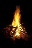 Пожар лагеря Стоковое Изображение RF