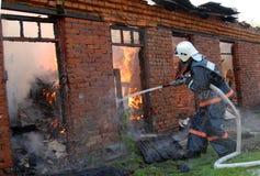 пожар малый Стоковая Фотография RF