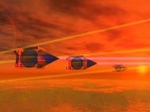 пожар открытый Стоковая Фотография RF