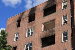 пожар повреждения Стоковые Фото