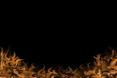 пожар предпосылки пылал Стоковое Изображение RF