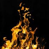 пожар предпосылки черный Стоковые Изображения RF