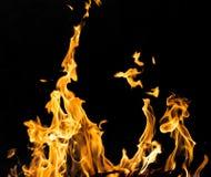 пожар предпосылки черный Стоковые Фото