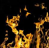 пожар предпосылки черный Стоковое фото RF