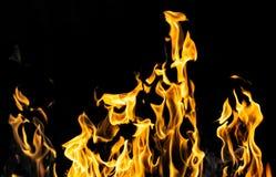 пожар предпосылки черный Стоковые Изображения