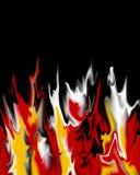 пожар предпосылки Стоковое Изображение