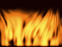 пожар предпосылки Стоковое фото RF