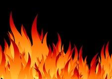 пожар предпосылки иллюстрация вектора