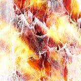 пожар предпосылки grungy Стоковые Изображения