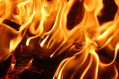 пожар пылает VIII стоковые фотографии rf