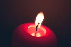 Пожар свечки Стоковые Фото
