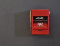 пожар сигнала тревоги Стоковое фото RF