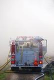 Пожар структуры стоковые фото