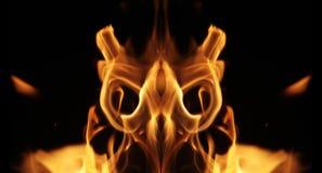 пожар твари стоковые изображения