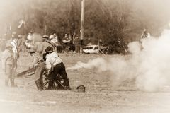 пожар цели готовый Стоковое фото RF