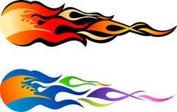 пожар шарика Иллюстрация вектора