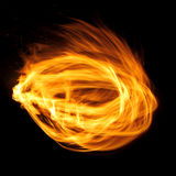 пожар шарика стоковое изображение rf