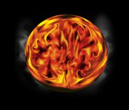 пожар шарика Стоковое Фото