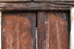 пожар двери Стоковые Фото