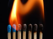 пожар 03 Стоковые Изображения RF