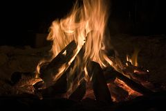 пожар стоковые фотографии rf