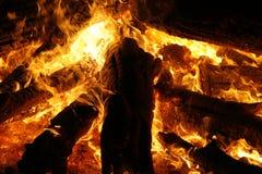 пожар 3 Стоковое Изображение RF