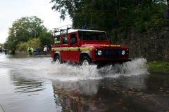 пожар 4x4 dept Стоковая Фотография