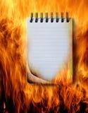 пожар Иллюстрация штока