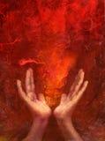 пожар chakra иллюстрация штока