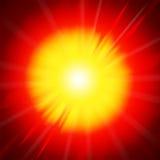 пожар explotion иллюстрация вектора