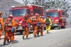 Пожар Forrest - весны Camarillo 5-2-2013 Стоковые Изображения