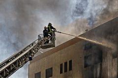 Пожар Mriehel стоковые фотографии rf