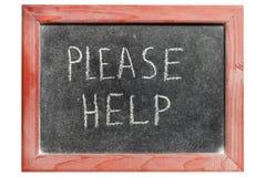 Пожалуйста помогите Стоковое фото RF