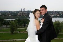 Романтичные пары венчания Стоковые Изображения RF