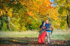 пожененное счастливое пар Стоковое Изображение